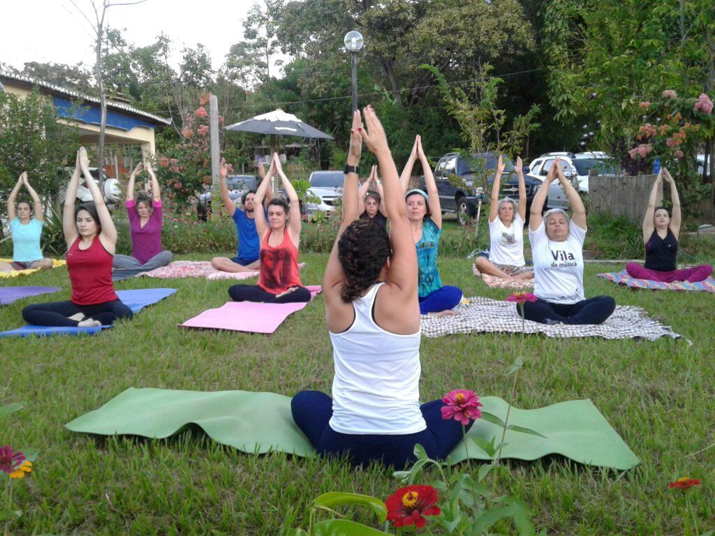 Yoga Em Natural Harmonia Vila Encantada Crato